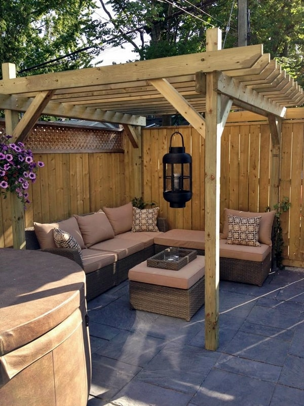 17 nice pergola terrace ideas (5)