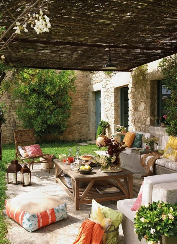 17 nice pergola terrace ideas (7)