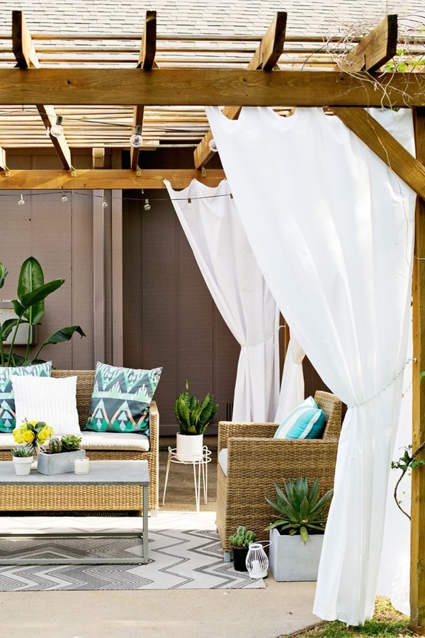 17 nice pergola terrace ideas (8)