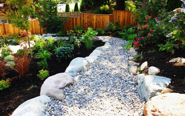 18 landscape designs with rocks stones (10)