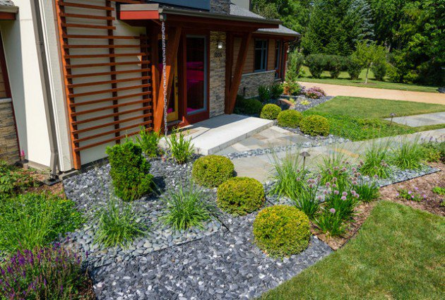 18 landscape designs with rocks stones (13)