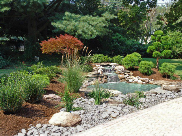 18 landscape designs with rocks stones (3)
