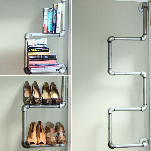 19 diy industrial furniture for home (2)