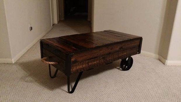 19 diy industrial furniture for home (3)