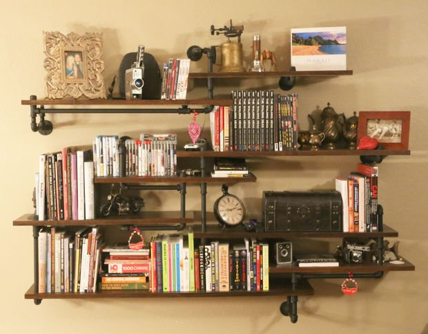 19 diy industrial furniture for home (7)