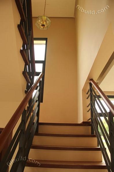 2 storey earth tone contemporary house (13)