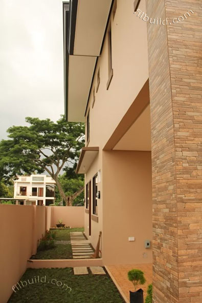 2 storey earth tone contemporary house (4)