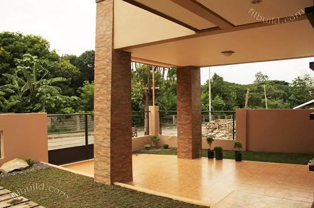 2 storey earth tone contemporary house (5)