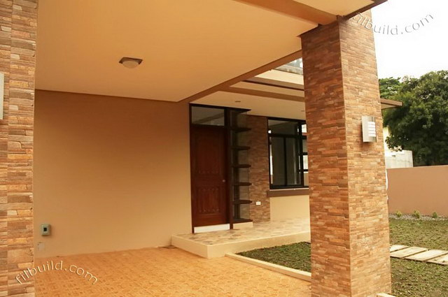 2 storey earth tone contemporary house (6)