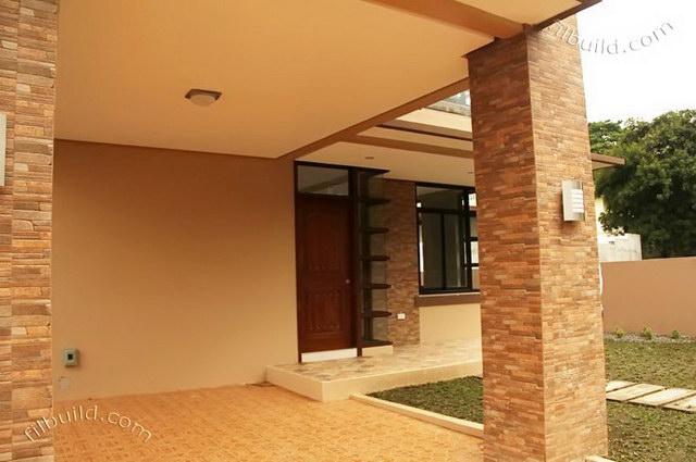2 storey earth tone contemporary house (6)