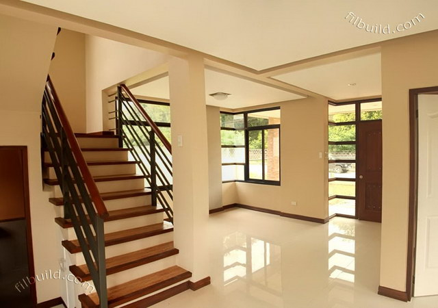 2 storey earth tone contemporary house (8)