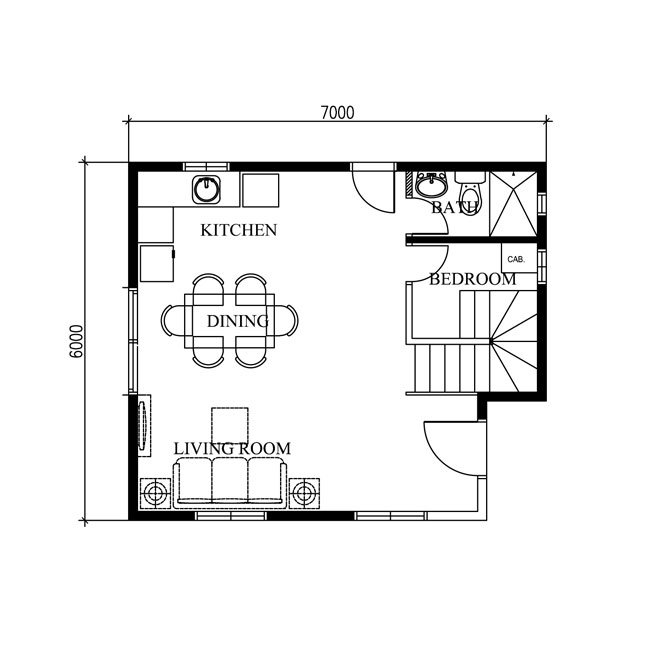 2 storey modern concrete wood house (3)