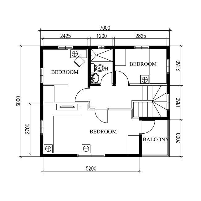 2 storey modern concrete wood house (4)