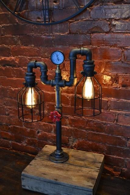 20 ideas handmade industrial style (15)