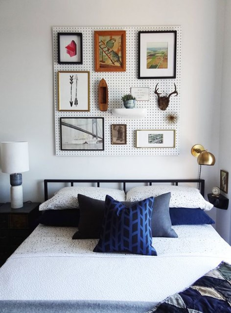 20 pegboard ideas to organize room (17)