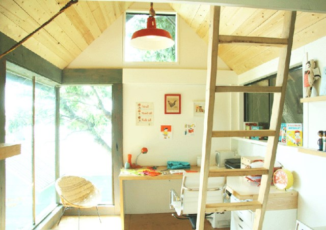 Compact house Rustic style (2)