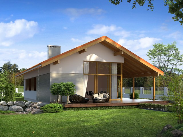 Contemporary House Beautiful colors (3)