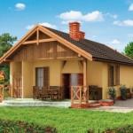 บ้านขนาดเล็กกะทัดรัด ตกแต่งแบบง่ายๆ จากวัสดุใกล้ตัว ในงบ 5 แสนบาท