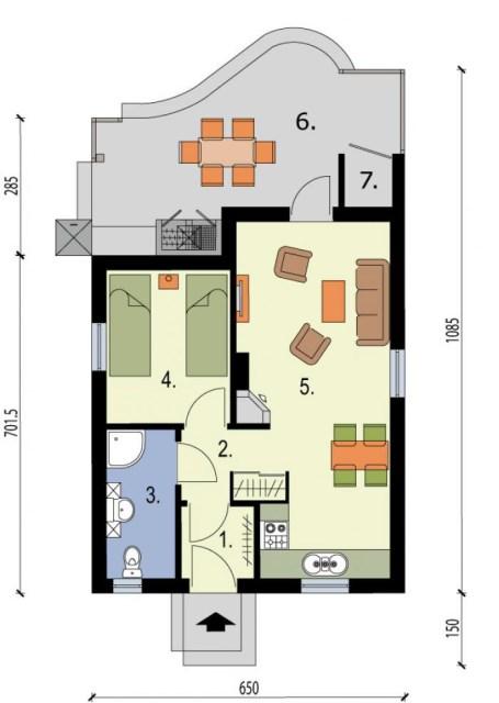 Contemporary compact home (6)