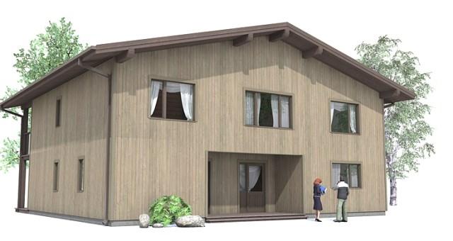 Contemporary house Decor wood (1)