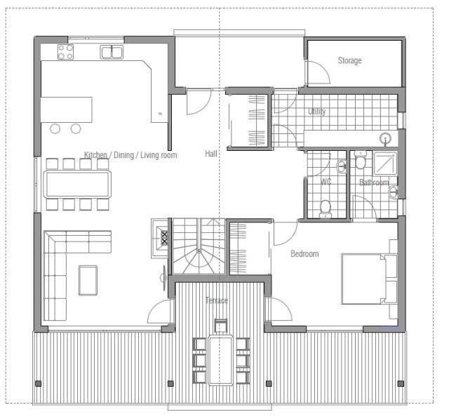 Contemporary house Decor wood (2)