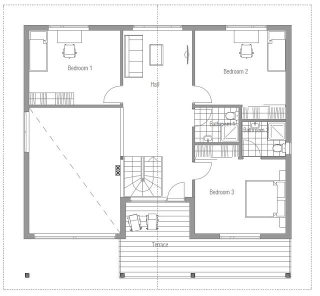 Contemporary house Decor wood (3)