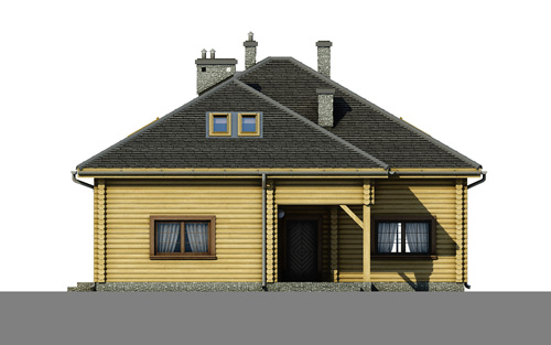 Contemporary style house Wooden (4)