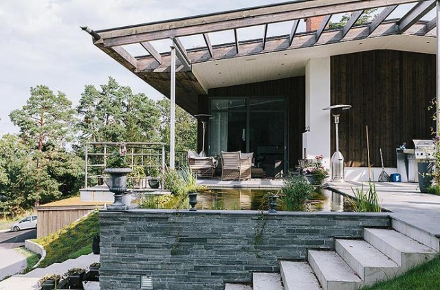 Cottage contemporary House 2 storey chic design (25)