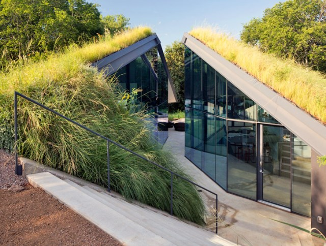 Glass House with swimming pool (7)