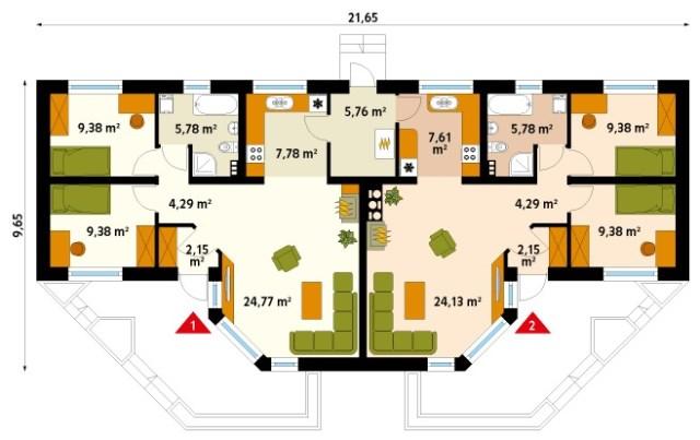 House Beautiful colors And shape (1)