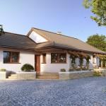 บ้านแฝดร่วมสมัย สวยงามจากโทนสี วัสดุ และรูปทรงที่คุ้นตา