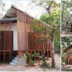 บ้านยกพื้นสไตล์อีโค ตกแต่งด้วยไม้และสังกะสี เป็นมิตรต่อธรรมชาติ งบก่อสร้างราคาประหยัด