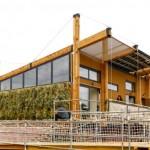 บ้านเดี่ยวล้ำสมัย รูปทรงโมเดิร์น สร้างเป็นบ้านประหยัดพลังงาน