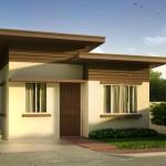 บ้านเดี่ยวขนาดเล็ก 38 ตร.ม. ออกแบบรูปทรงโมเดิร์นเรียบง่าย อยู่ในงบก่อสร้างไม่เกิน 4 แสนบาท