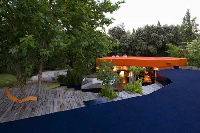 Modern design villa of narcolepsy nature (15)