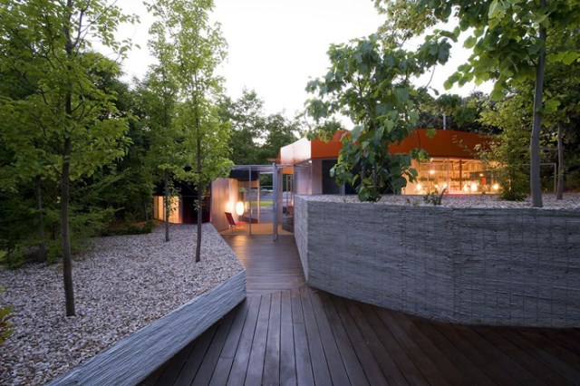 Modern design villa of narcolepsy nature (16)