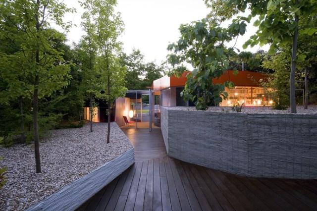Modern design villa of narcolepsy nature (16)
