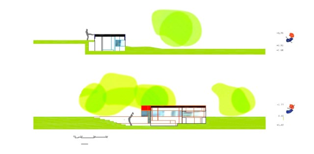 Modern design villa of narcolepsy nature (9)
