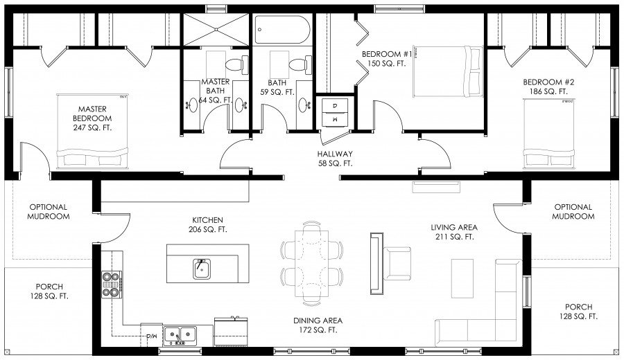Modern house 3 bedrooms (1)