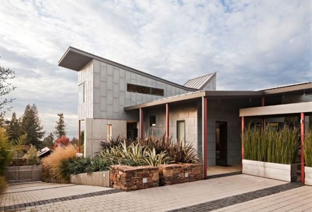 Modern house With modern garden (16)