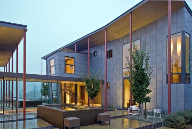 Modern house With modern garden (17)