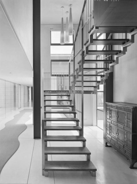Modern house With modern garden (4)
