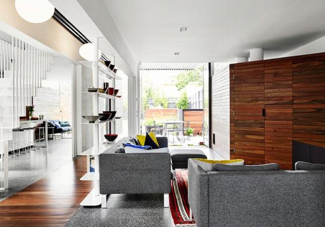 Modern house box Shape Wood and glass  (10)