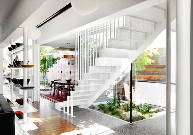 Modern house box Shape Wood and glass  (4)