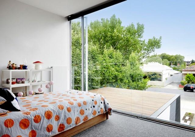 Modern house box Shape Wood and glass  (5)