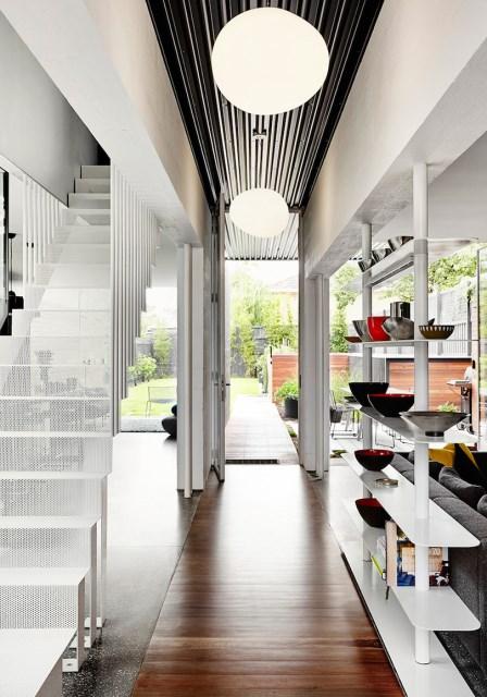 Modern house box Shape Wood and glass  (8)