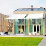 บ้านโมเดิร์นขนาดใหญ่ ออกแบบเป็นบ้านประหยัดพลังงาน ด้วยวัสดุรีไซเคิล