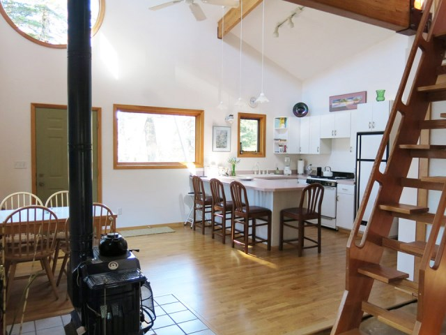 Rustic wooden house Wood interior (10)