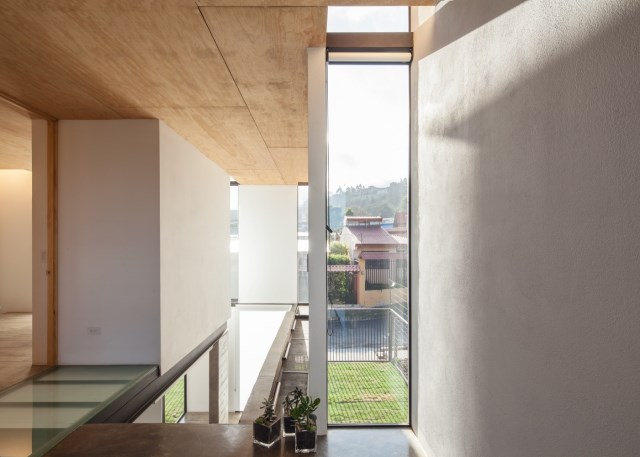 Two-storey Medium house Modernlofts Wood and cement (17)