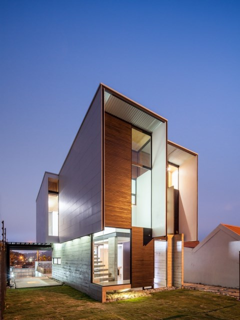 Two-storey Medium house Modernlofts Wood and cement (21)